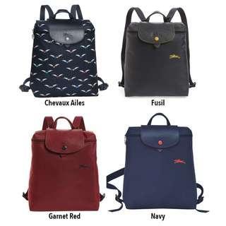 8c72994ef67b4 Longchamp Le Pliage Club Backpack