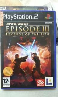 [Pre❤] PS2 Game (PAL) - Star Wars Episode III - Revenge of the Sith