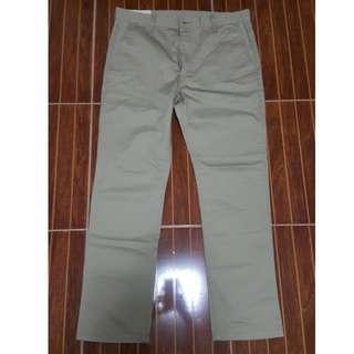 Levis slim trouser brown sz34