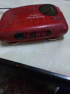Vintage Pensonic Clock/radio
