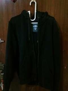 H&M Black Hoodie Jacket