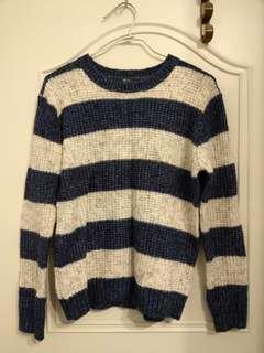 🚚 Net 毛衣 條紋 #一百均價