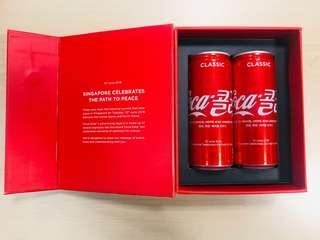 Limited edition - Coca Cola Set for historic Trump Kim Summit