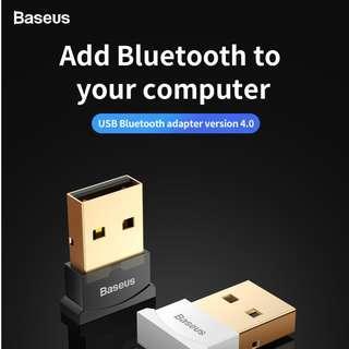 Baseus Mini USB Bluetooth V4.0 Receiver Adapter Converter for Computer Tablet Wireless Mouse Speaker