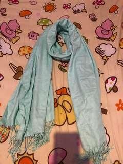 women scarf Tiffany blue