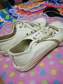Authentic converse (womens) dirty white