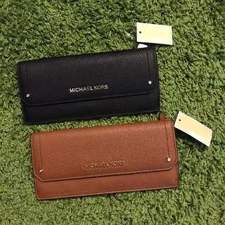 Micheal Kors Women's Long Wallet Brown