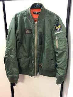 [99%新]GROVER 315TH Ma-1 jacket 軍綠色