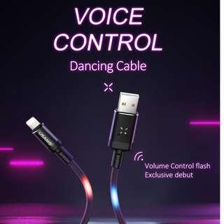 Usams US-SJ261 U16 Volume Control Data And Charging Cable