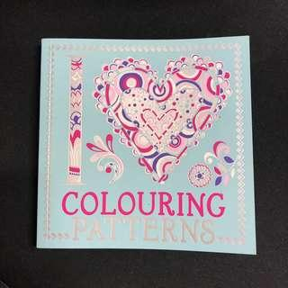 Clearance: Adult colouring book - I love colouring patterns