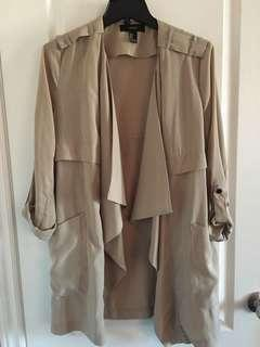 F21 Beige Mid Length Topper