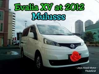 Nissan Evalia XV at 2012, Putih Mulusss Istimewa, Harga Termurah ##