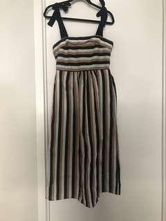 Zara Striped MIDI Dress - Size M