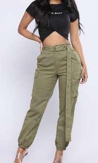 Fashion Nova cargo pants BNWT