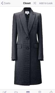 Carine Roitfeld UNIQLO collaboration black jacquard jacket xs