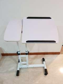 Laptop adjustable foldable bed desk stand
