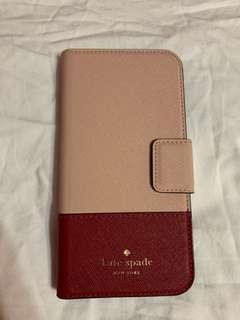 kate spade leather wrap iphone x