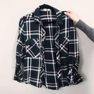Forever 21 plaid top (Size M)