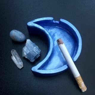 Blue Moon Ashtray