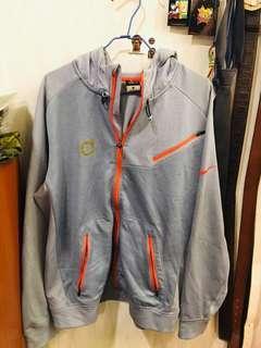 🚚 二手Nike淺藍天空藍運動外套M號