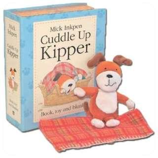 Cuddle Up Kipper - Mick Inkpen - Book and Toy