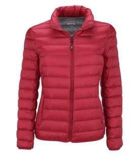 Tumi women's red pax jacket