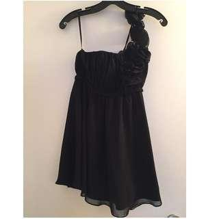 One Shoulder ittle Black Dress