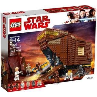 Lego 75220 Star Wars Sandcrawler (Pre order)