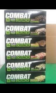 Protein bar crunch bar MP muscle pharm conbat
