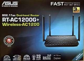 Asus RT-AC1200G+ Dual Band Router for sale