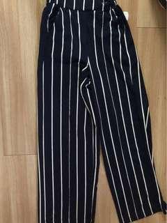 Stripe Pants Pull & Bear