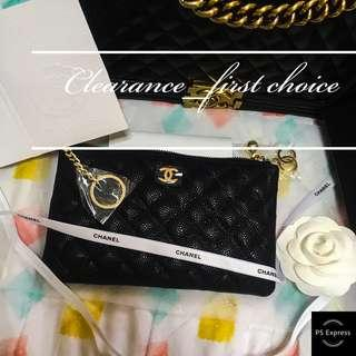 Ready Stock✅AUTHENTIC GIFT PURSE 2018 Premium Vanity Gift Series Chanel iPhone 6plus Coin Purse Chanel Caviar Wallet Chloe Perfume Gucci Wallet Chanel Mademoiselle MacBook