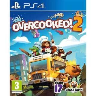 🚚 Overcooked 2 (PS4 - Digital Code)