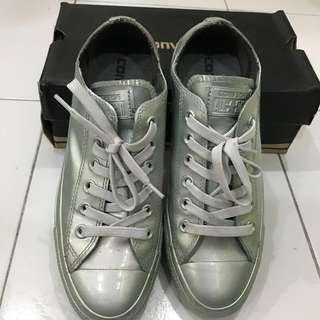 Converse Metallic rubber OX Pure Silver #blackfriday100