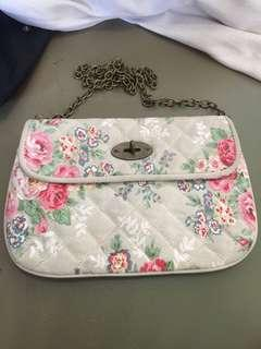 Authentic cath kidston sling clutch bag