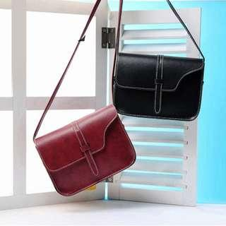 🚚 (Sales) Wine Red Small Sling Bag