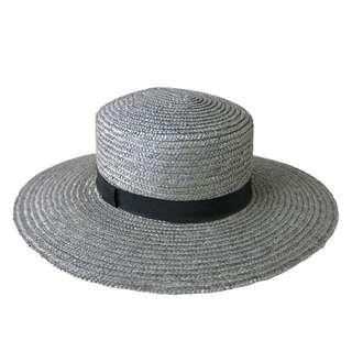 BN Ace of Something Hamilton Graphite Wide Brim Boater Hat