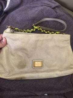Authentic marc jacobs chain shoulder bag