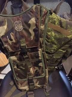 Hydration bags for Airsoft 2 pcs