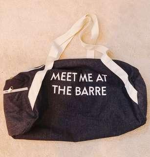 Fab Fit Fun Bag - Meet Me at the Barre - Gym Bag