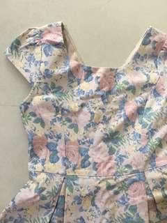 🚚 Lollyrouge pastel floral dress size M