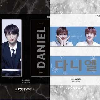 [Sharing] Wanna One - Kang Daniel [SG GO] ➕plusminus➖ 2st Cheering Kit Dark & Bright by @plusminus1210
