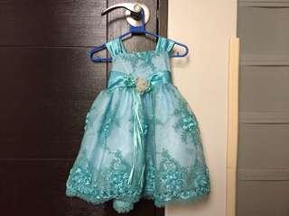 Gown or Birthday Dress for Baby