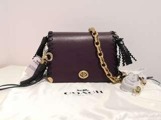 Coach 1941 Dinky 19 with charms