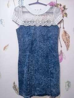 Denim dress 💙