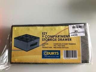 EZY 9 compartment storage drawer