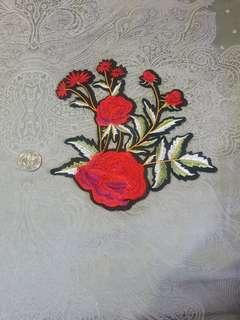 Iron on Patch Flower