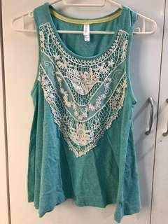 Turquoise Tank-top (from Target USA)