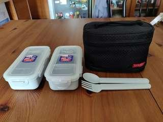 Lock & Lock Pack Lunch Set