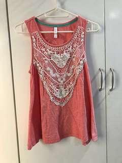 Pink Tank-top (from Target USA)